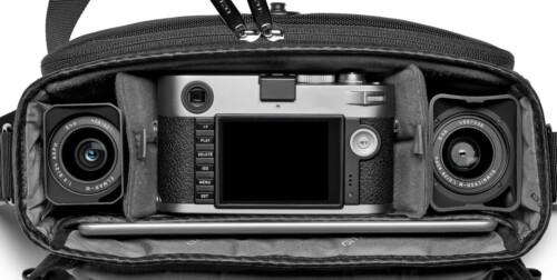 Vista superior con equipo Leica de ejemplo