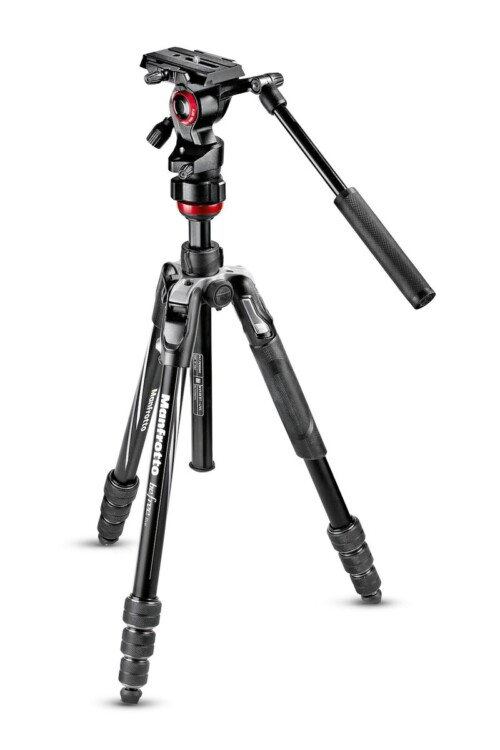 Trípode Manfrotto Befree Advanced Twistlock y rótula de vídeo
