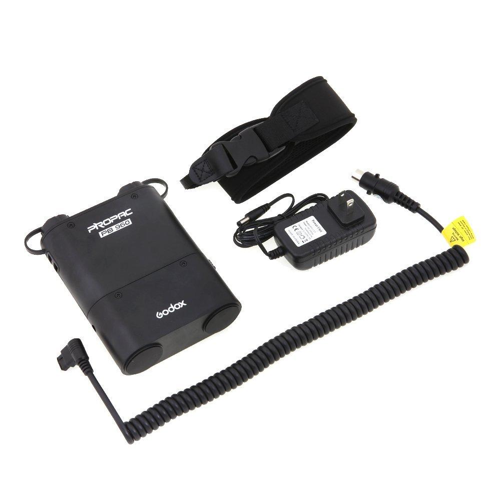Godox Propac PB960 con cable y cargador