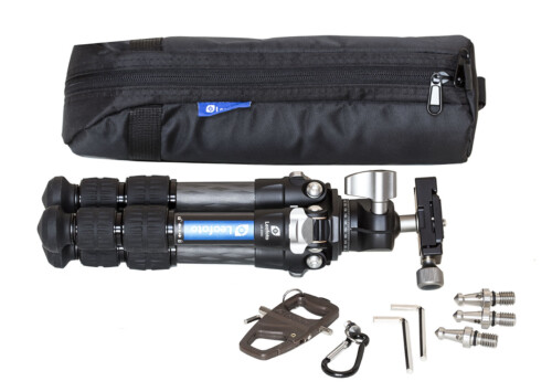 Kit trípode Leofoto LS 223C de carbono y rótula LH-25