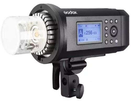 Detalle lámpara Godox AD600 PRO