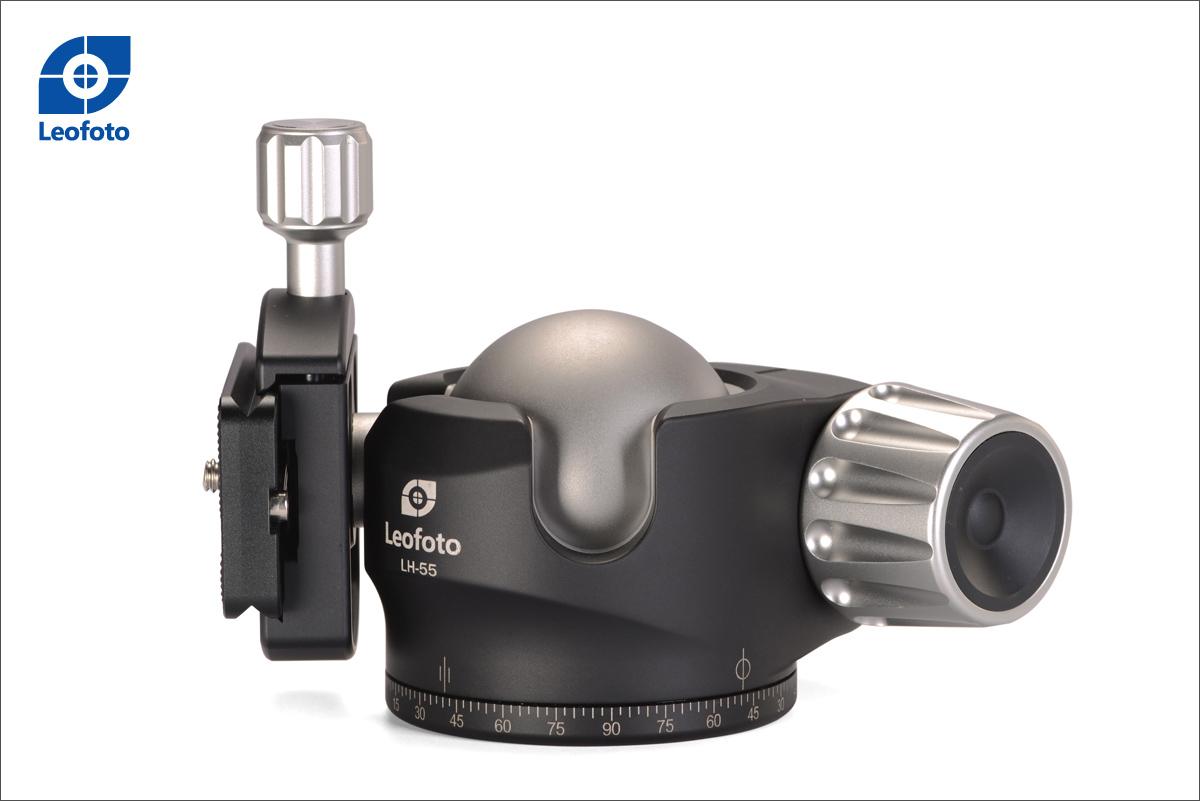 Leofoto LH-55+QP-70 rótula de bola profesional